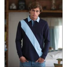 FR112 Front Row Diagonal Stripe House Rugby Shirt